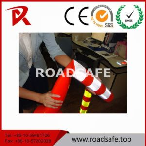 Road Safety Flexible Warning Sign 750mm Bollard Road Delineator Post pictures & photos
