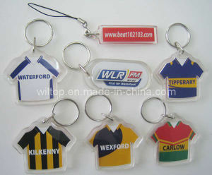 Plastic&Promotional T Shirt Key Chains (PM138) pictures & photos