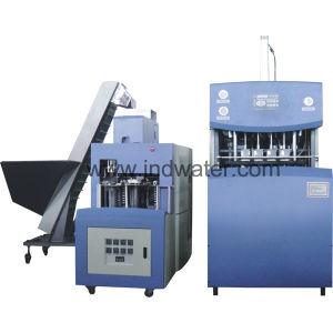 Semi-Auto Reheat Stretch Blow Molding Machine pictures & photos
