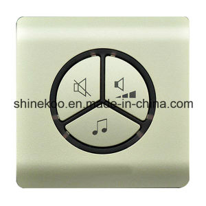 Self Powered No Battery Wireless Chime with Plug (SN800SW-UE) pictures & photos