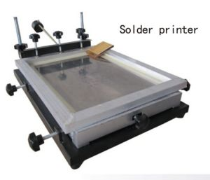Simple Solder Paste Printer pictures & photos