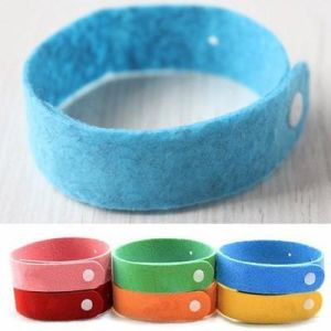 Deet Free Powerful Micro Fiber Mosquito Repellent Bracelet Baby pictures & photos