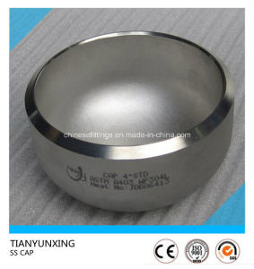 316/316L Seamless Butt Weld Fittings Stainless Steel Cap pictures & photos