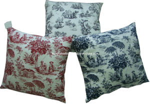 100% Cotton Canvas Decrotive Cushion
