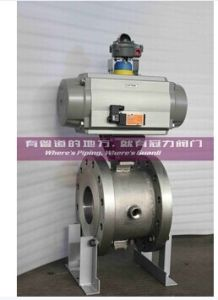 Pneumatic Jacket Segment Ball Valve pictures & photos