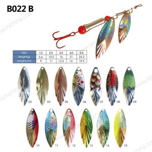 Wholesale Popular Metal Fishing Lure Spinner pictures & photos