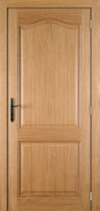 Traditonal Style Texture Surface Pine Wood Veneer Door for Home Design pictures & photos