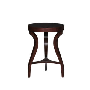 Contemporary Solid Wood End Table Era