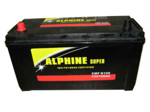 Mf Car Battery/N100 12V100ah JIS Standard Battery pictures & photos