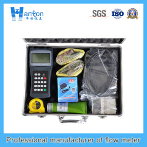 High Precision Ultrasonic Handheld Flow Meter Ht-0300 pictures & photos
