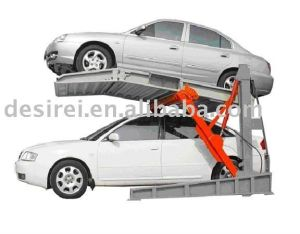 Shared Hydraulic Two Column Parking Lift pictures & photos