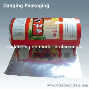 High Quality Plastic Packaging Aluminum Foil Roll Film (DQ) pictures & photos