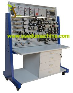 Basic Pneumatic Training Workbench Pneumatic Bench Educational Equipment Didactic Equipment pictures & photos