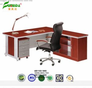 Red Coffee MFC High End Furniture with Metal Frame pictures & photos