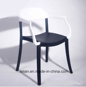 Strong Plastic Dining Coffee Chair Garden Chair with Arm pictures & photos