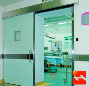 CE Certification Hopital Sliding Airtight Door (HF-1037) pictures & photos