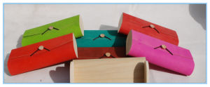 Fashion Soft Colorful Wood Scarf Tie Package Gift Box for Promotion Gifts pictures & photos