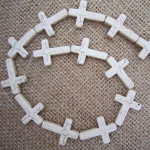 Turquoise Sideways Cross, Howlite Sideway Cross, Sideways Cross Connector pictures & photos