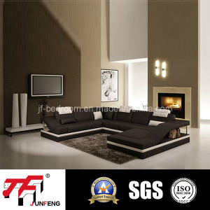 2016 Modern Leather Sofa Jfu-7 pictures & photos
