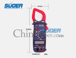 Suoer Good Quality Digital Multi-Meter (SD_203) pictures & photos