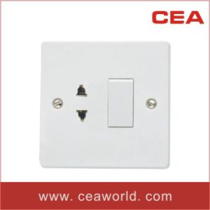 16A 1 Gang+20A Single Pole/Double Pole Wall Switch&Socket pictures & photos