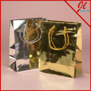 Metallic Paper Euro Totes Gift Paper Bags pictures & photos