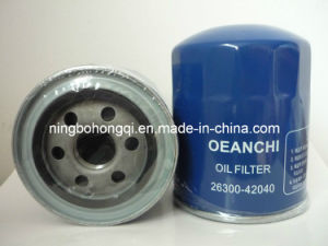 Oil Filter 26300-42040 for Hyundai pictures & photos