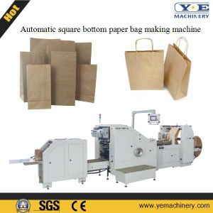 Roll Feeding Food Bread Paper Bag Making Machine (SD-200) pictures & photos