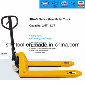 Hand Pallet Truck with Casting Pump Sba-E Series pictures & photos