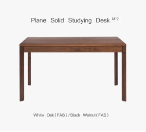 Fsc Cert American Walnut 2drawer Desk Wooden Furniture Writing Table pictures & photos
