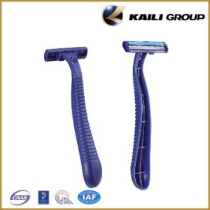 Disposable Shaving Blade Razor (KL-S202L) with Double Blade pictures & photos