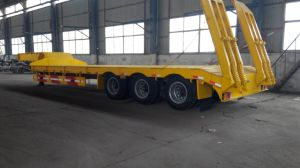 2axle/3 Axle Low Bed Semi Trailer pictures & photos
