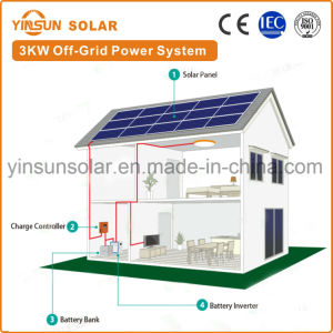 3000W off-Grid Solar Power System for Home System pictures & photos