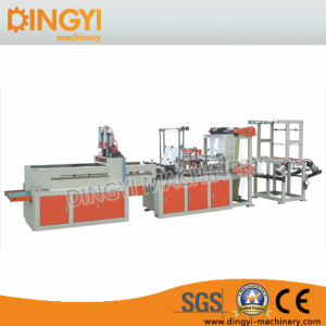 Two Layer Four Lines Bag Making Machine with Punching Device pictures & photos