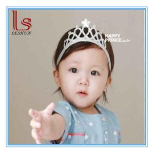 Children Hair Accessories Baby Birthday Crown Hair Band Headband pictures & photos