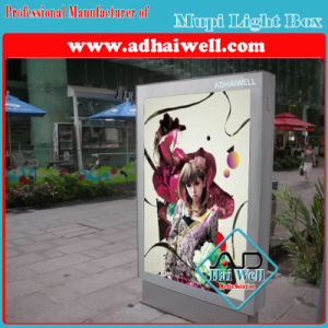 on Side Mupi Light Box for Bus Stop Shelter pictures & photos