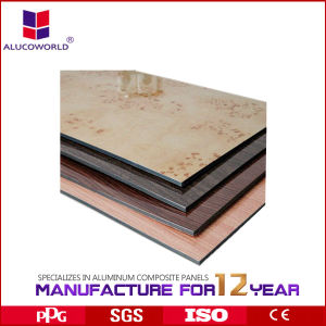2017 Alucoworld Hot Drawing Aluminum Composite Panel pictures & photos