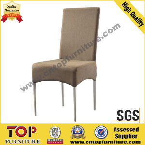 Hotel Restaurant Steel Fabric Dining Chair pictures & photos