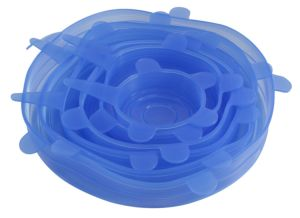 Flexible Kitchen Storage Silicone Food Cover, Silicone Lids pictures & photos