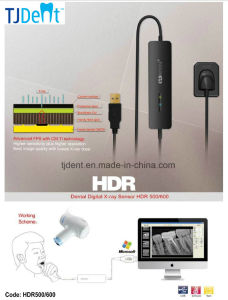 HD Efficient Multi-Users Easy to Operate CMOS Digital Dental X-ray Sensor (HDR500/600) pictures & photos