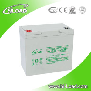High Capacity 12V 100ah Solar Gel Battery pictures & photos