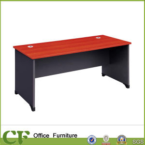 Melamine Finish Simple Office Writing Desk for Staff pictures & photos