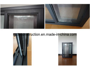 Competitive Price Sliding Aluminum Window with Flyscreen pictures & photos