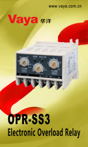 Opr-Ss3 Electronic Overload Relay