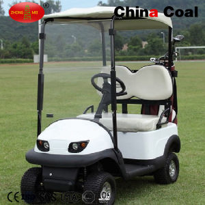 2 Seaters Gas Powered Sightseeing Golf Cars pictures & photos