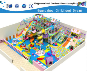 Indoor Playground with Plastic Slide Equipment (HC-22318) pictures & photos