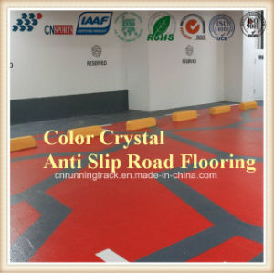 Color Crystal Anti Slip Road Flooring for Indoor outdoor Surface pictures & photos