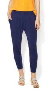 Women′s 95%Viscose 5%Spandex Long with Slip Pockets at Side