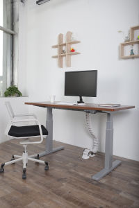 Electric Ergonomic Office Height Adjustable Lift Standing Desk pictures & photos