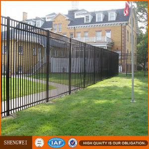 Black Outdoor Wrought Iron Fence for Garden pictures & photos